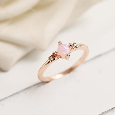 Ring - Dainty Fire Opal Ring