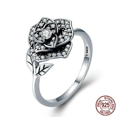 Ring - Dazzling Rose Sterling Silver Ring