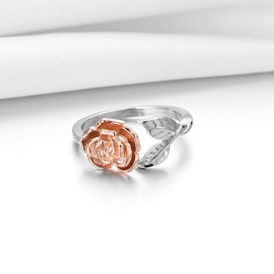 Ring - Delicate Rose Wrap Ring