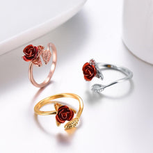 Load image into Gallery viewer, Ring - Enchanted Rose Wrap Ring