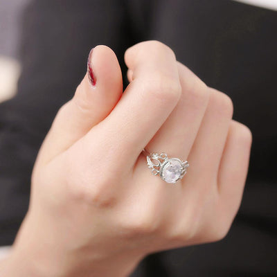 Ring - Exquisite Princess Crystal Ring