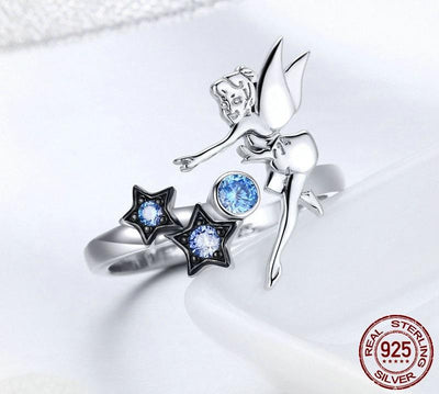 Ring - Fairy Star Sterling Silver Ring