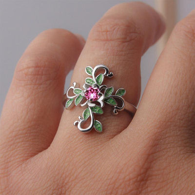 Ring - Forest Goddess Cross Ring