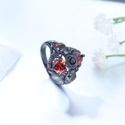 Ring - Gothic Beauty Rose Ring