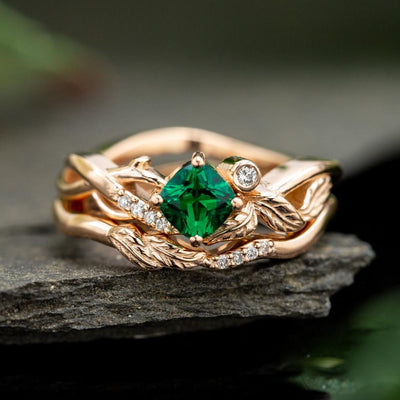 Ring - Green Forest Goddess Ring