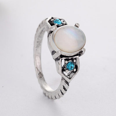 Ring - Icy Blue Moonstone Ring
