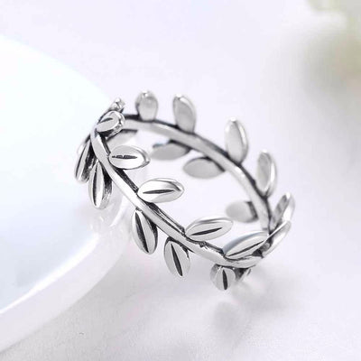 Ring - Laurel Wreath Sterling Silver Ring
