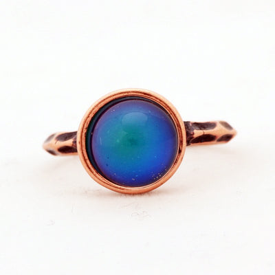Ring - Magical Vintage Mood Ring Copper