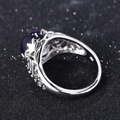 Ring - Majestic Amethyst Silver Ring