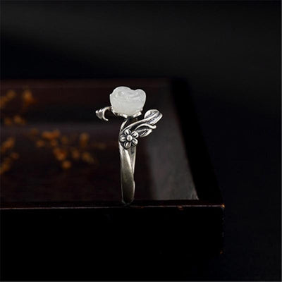 Ring - Majestic Rose Silver Ring