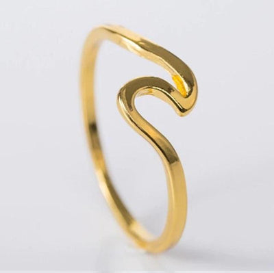 Ring - Ocean Summer Wave Ring