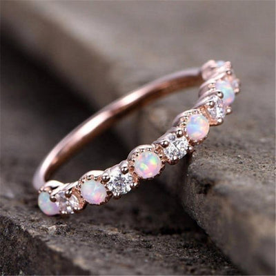 Ring - Pink Fairy Opal Ring