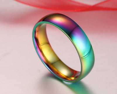 Ring - Rainbow Gold Stainless Steel Ring