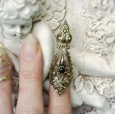Ring - Raven's Dire Nail Jewelry