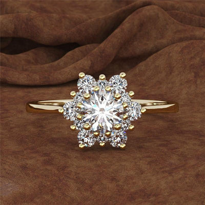 Ring - Snowflakes Princess Ring