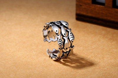 Ring - Sterling Silver Fish Ring