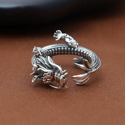 Ring - The Enchanted Thai Dragon Silver Ring