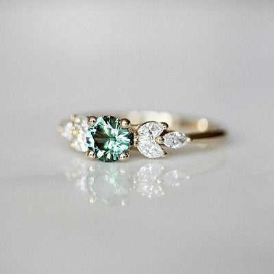 Ring - The Green Crystal Charmer Ring
