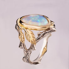 Load image into Gallery viewer, Ring - The Hidden Forest Opal Ring