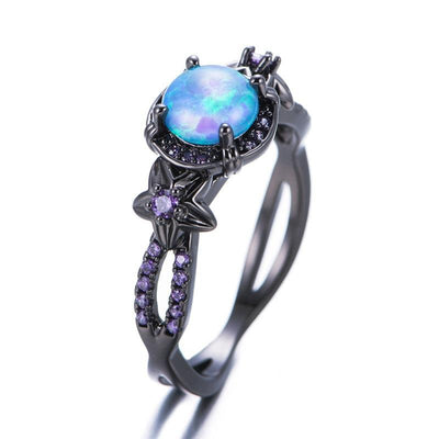 Ring - The Sorceress Blue Fire Ring