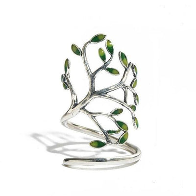 Ring - Tree Wrap Silver Ring