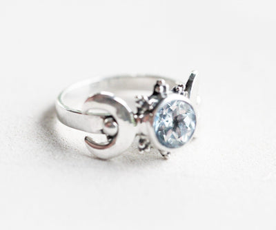 Ring - Triple Moon Goddess Ring