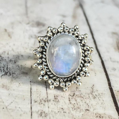 Ring - Victorian Inspired Moonstone Ring