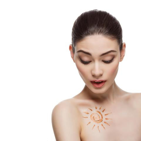 decolletage sun damage