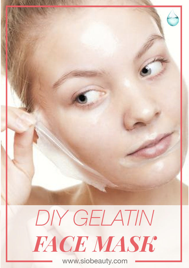 Gelatin face masks how to make your own gelatin face mask sio beauty diy face mask gelatin promotes collagen growth heal damaged skin improve elasticity solutioingenieria Choice Image