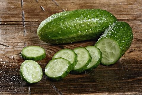 Cucumbers as a method for how to get rid of wrinkles under eyes