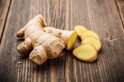ginger for treating wrinkles under your eyes