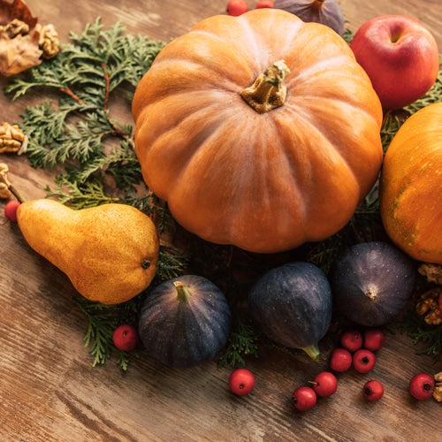 Fall foods for men's facial care
