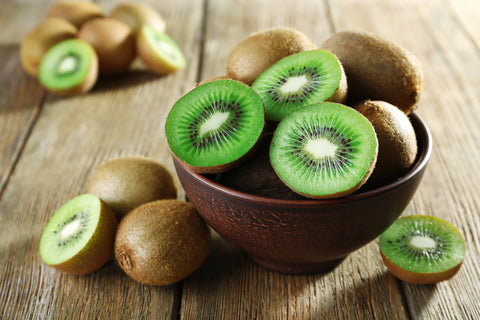 Kiwi as part of a skin detox diet
