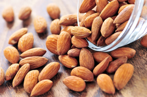 Almonds as part of a skin detox diet