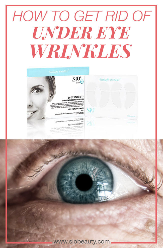 UNDER EYE WRINKLES Getting rid of your under-eye wrinkles is a winning formula towards looking younger. We've collected the five best home remedies for under-eye wrinkles so you can sit back, relax, and let the all-natural ingredients work their magic. #siobeauty #beautytips #skincare #skincareproducts #antiagingtips #diyskincare