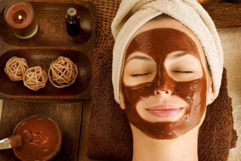 at-home facial mask