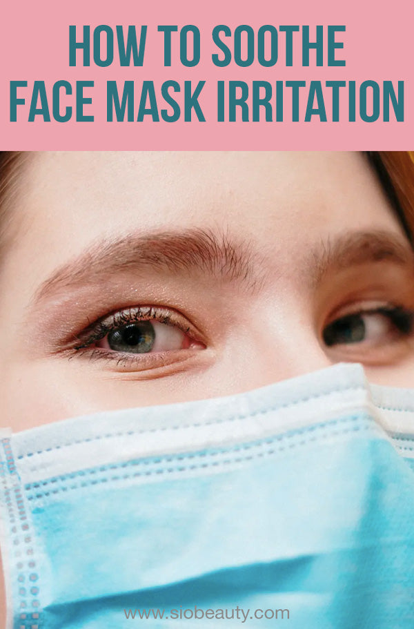face mask irritation