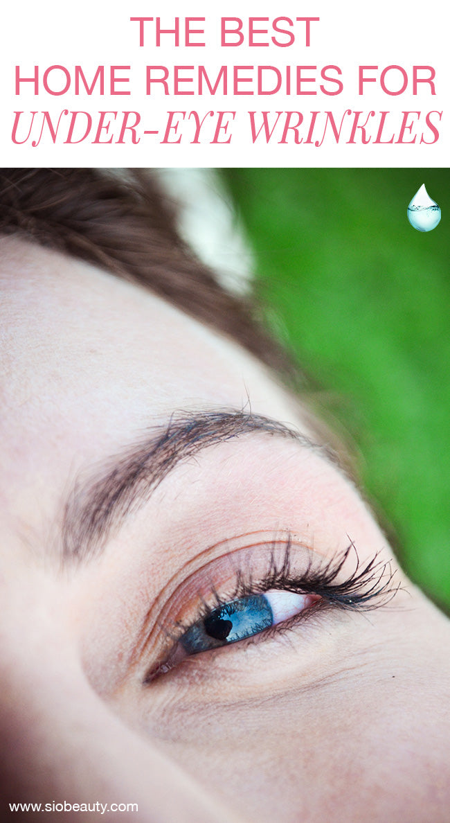 The Best Home Remedies For Under Eye Wrinkles