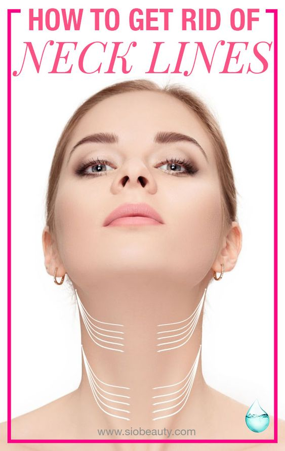 How To Get Rid Of Neck Lines Sio Beauty