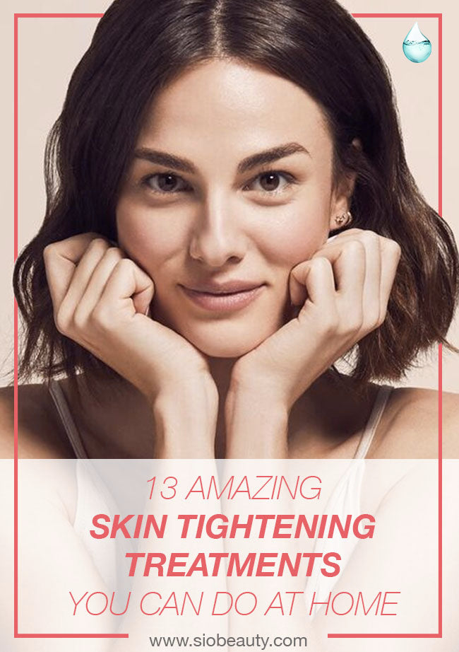 Make your skin look younger with these at home antiaging and skin tightening treatments  #siobeauty #beautytips #skincare #skincareproducts #antiaging #skincaretips #naturalbeauty #naturalskincare #antiaging