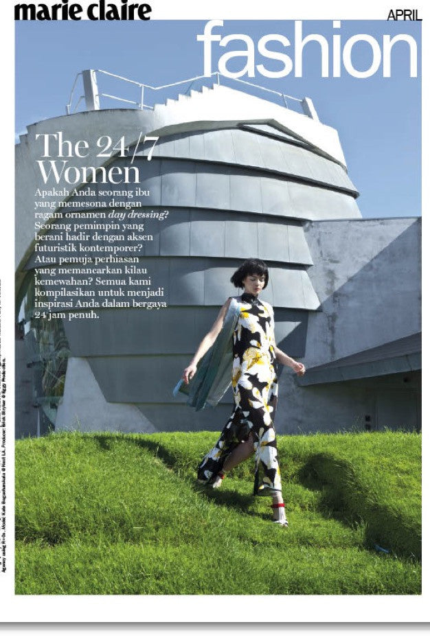 W+G FEATURED IN MARIE CLAIRE INDONESIA