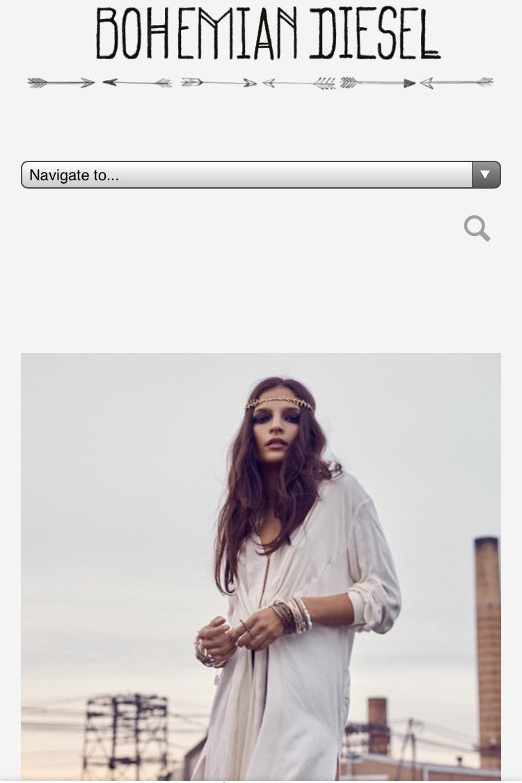 WREN+GLORY FEATURED ON BOHEMIAN DIESEL