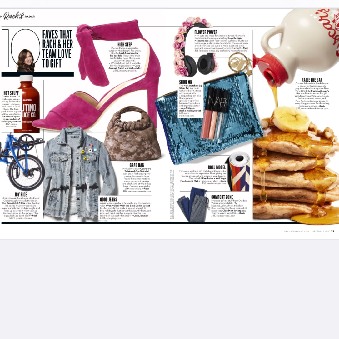 W+G Featured in Rachael Ray Magazine!