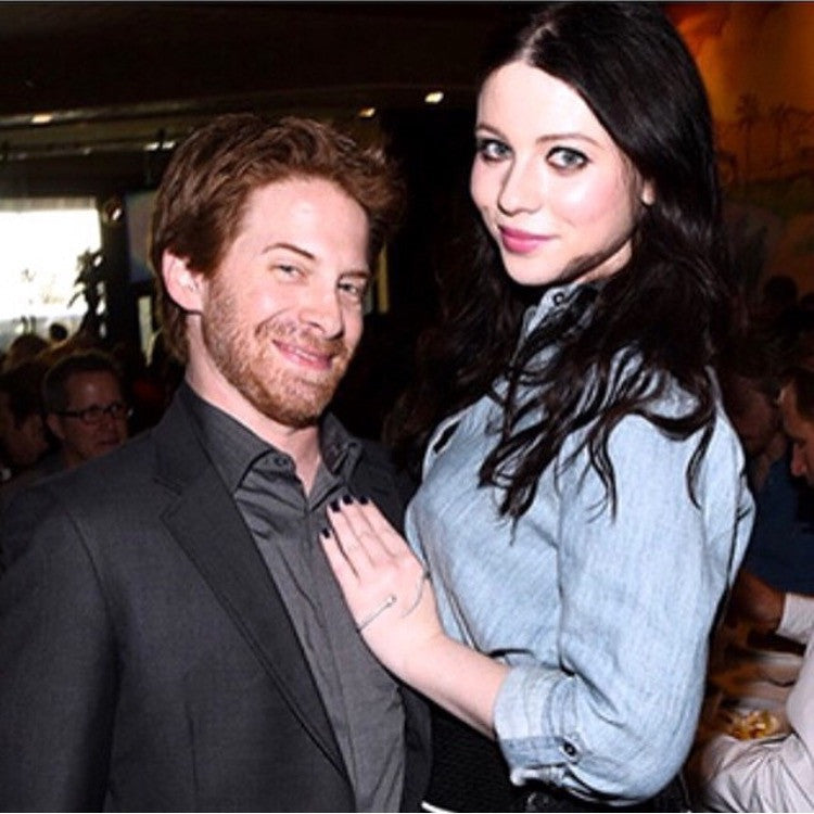 MICHELLE TRACHTENBERG AND SETH GREEN
