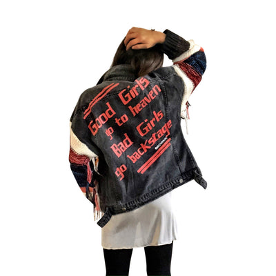 'BAD GIRLS' DENIM JACKET