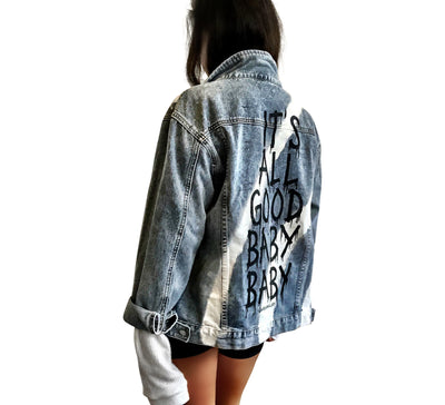'BABY BABY' DENIM JACKET