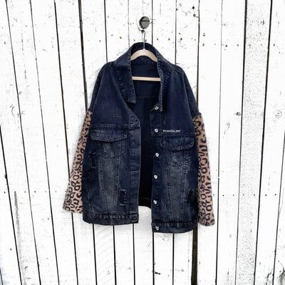 'CASSETTE LIFE' DENIM JACKET