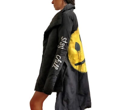 'CHILLIN SMILEY' PUFFER JACKET