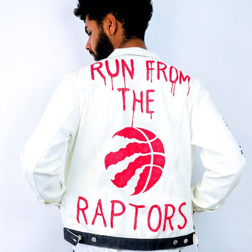 'GO RAPTORS' DENIM JACKET - MEN