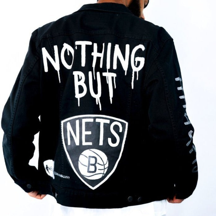 'GO NETS' DENIM JACKET - MEN